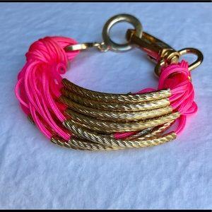 Jewelry - Neon Pink Bracelet